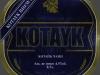Kotayk Chani ▶ Gallery 2502 ▶ Image 8308 (Label • Этикетка)