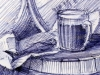Beer in Art • Пиво в искусстве ▶ Gallery 233 ▶ Image 492 (Pub • Пивная)