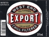 West End Export ▶ Gallery 132 ▶ Image 1127 (Label • Этикетка)
