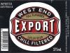 West End Export ▶ Gallery 132 ▶ Image 1127 (Label • Этикетка)