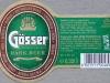 Gösser Dark ▶ Gallery 1448 ▶ Image 4198 (Label • Этикетка)