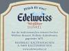 Edelweiss Weißbier Dunkel ▶ Gallery 1677 ▶ Image 5120 (Back Label • Контрэтикетка)