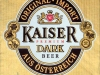 Kaiser Premium Dark ▶ Gallery 1675 ▶ Image 5116 (Label • Этикетка)
