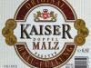 Kaiser Doppel Malz ▶ Gallery 1669 ▶ Image 5096 (Label • Этикетка)
