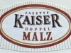 Kaiser Doppel Malz ▶ Gallery 1669 ▶ Image 5097 (Neck Label • Кольеретка)