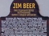 Jim Beer ▶ Gallery 1034 ▶ Image 3076 (Back Label • Контрэтикетка)