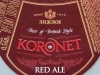 Koronet Red Ale ▶ Gallery 1173 ▶ Image 4910 (Neck Label • Кольеретка)