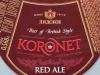 Koronet Red Ale ▶ Gallery 1173 ▶ Image 4910 (Neck Label • Кольеретка)