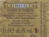 Grimbergen ▶ Gallery 1953 ▶ Image 6175 (Back Label • Контрэтикетка)