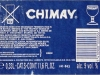 Chimay Bleue ▶ Gallery 1802 ▶ Image 5547 (Back Label • Контрэтикетка)
