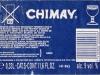 Chimay Bleue ▶ Gallery 1802 ▶ Image 5547 (Back Label • Контрэтикетка)