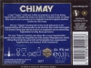 Chimay Bleue ▶ Gallery 1802 ▶ Image 5548 (Back Label • Контрэтикетка)