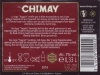 Chimay Bruin (Rouge) ▶ Gallery 1804 ▶ Image 5559 (Back Label • Контрэтикетка)