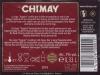 Chimay Bruin (Rouge) ▶ Gallery 1804 ▶ Image 5559 (Back Label • Контрэтикетка)