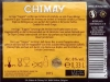 Chimay Tripel ▶ Gallery 1803 ▶ Image 5554 (Back Label • Контрэтикетка)