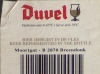 Duvel ▶ Gallery 366 ▶ Image 868 (Back Label • Контрэтикетка)
