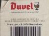 Duvel ▶ Gallery 366 ▶ Image 868 (Back Label • Контрэтикетка)