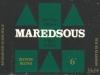 Maredsous Blonde ▶ Gallery 356 ▶ Image 837 (Label • Этикетка)