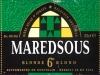 Maredsous Blonde ▶ Gallery 356 ▶ Image 845 (Label • Этикетка)