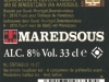 Maredsous Brune ▶ Gallery 357 ▶ Image 838 (Back Label • Контрэтикетка)