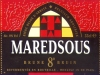Maredsous Brune ▶ Gallery 357 ▶ Image 843 (Label • Этикетка)