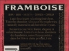 Belle-Vue Framboise ▶ Gallery 352 ▶ Image 826 (Back Label • Контрэтикетка)