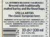 Stella Artois ▶ Gallery 375 ▶ Image 895 (Back Label • Контрэтикетка)
