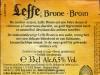 Leffe Brune/Bruin ▶ Gallery 1949 ▶ Image 6167 (Back Label • Контрэтикетка)