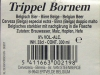 Trippel Bornem ▶ Gallery 361 ▶ Image 852 (Back Label • Контрэтикетка)