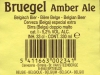 Bruegel Amber Ale ▶ Gallery 358 ▶ Image 840 (Back Label • Контрэтикетка)