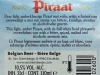 Piraat ▶ Gallery 2737 ▶ Image 9321 (Back Label • Контрэтикетка)