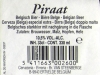 Piraat Amber ▶ Gallery 368 ▶ Image 874 (Back Label • Контрэтикетка)