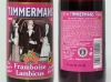 Timmermans Framboise Lambicus ▶ Gallery 604 ▶ Image 1690 (Glass Bottle • Стеклянная бутылка)