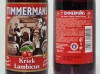 Timmermans Kriek Lambicus ▶ Gallery 603 ▶ Image 1688 (Glass Bottle • Стеклянная бутылка)