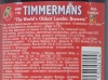 Timmermans Kriek Lambicus ▶ Gallery 603 ▶ Image 1689 (Back Label • Контрэтикетка)