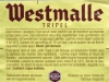 Westmalle Tripel ▶ Gallery 929 ▶ Image 2512 (Back Label • Контрэтикетка)