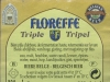 Floreffe Triple ▶ Gallery 364 ▶ Image 862 (Back Label • Контрэтикетка)