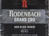 Rodenbach Grand Cru ▶ Gallery 2147 ▶ Image 6954 (Label • Этикетка)