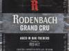 Rodenbach Grand Cru ▶ Gallery 2147 ▶ Image 6954 (Label • Этикетка)