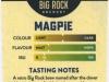 Big Rock Magpie ▶ Gallery 2143 ▶ Image 6937 (Back Label • Контрэтикетка)