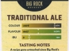 Big Rock Traditional Ale ▶ Gallery 2144 ▶ Image 6921 (Back Label • Контрэтикетка)