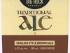 Big Rock Traditional Ale ▶ Gallery 2144 ▶ Image 6923 (Label • Этикетка)