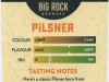Big Rock Pilsner ▶ Gallery 2145 ▶ Image 6926 (Back Label • Контрэтикетка)