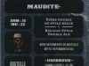Maudite ▶ Gallery 1908 ▶ Image 5998 (Back Label • Контрэтикетка)