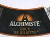 Alchimiste Bock de Joliette ▶ Gallery 1898 ▶ Image 5951 (Neck Label • Кольеретка)