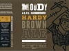 Hardy Brown Ale ▶ Gallery 2140 ▶ Image 6911 (Label • Этикетка)
