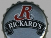 Rickard's White ▶ Gallery 183 ▶ Image 385 (Bottle Cap • Пробка)