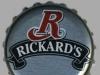 Rickard's White ▶ Gallery 183 ▶ Image 385 (Bottle Cap • Пробка)