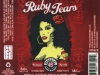 Ruby Tears Northwest Red Ale ▶ Gallery 2163 ▶ Image 7031 (Label • Этикетка)