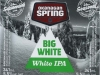 Okanagan Spring Big White. White IPA ▶ Gallery 1888 ▶ Image 5860 (Label • Этикетка)